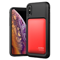 Чехол VRS Design Damda High Pro Shield для iPhone X/XS Deep Red